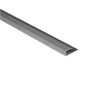 Roberts Silver Junior 50.E17S End Aluminium Floor Trim 3.3m