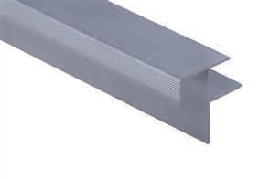 Roberts Silver Senior Stair Nosing 50.E13S  Aluminium Floor Trim 3.30m