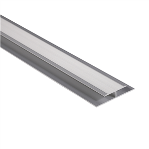 Roberts Silver Junior Expansion 50.E25S Joint Cover Aluminium Floor Trim 3.3m