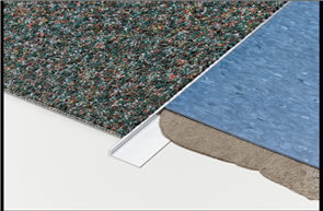 Tredsafe Carpet Vinyl DT036 Transition - Mill Finish
