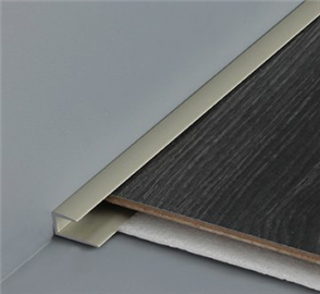 Tredsafe Bronze Wood Edge Cap DT050 Floor Finishing Trim 2500 mm