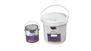 KLB Strongbond EP 740E Silver Grey RAL 7001 10 kg kit