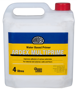 Ardex Multiprime - Water Based Primer 4kg