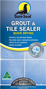 Sure Seal Grout & Tile Sealer Quick Drying 300 grams