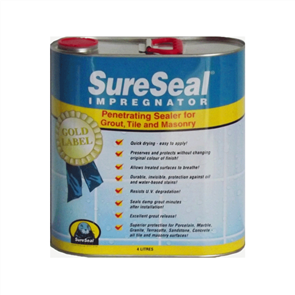 Sure Seal Grout, Tile, and Stone Sealer 4 Litre