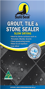 Sure Seal Grout, Tile & Stone Sealer Slow Drying 300 grams