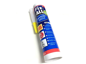 Holdfast FixAll MS Crystal Sealant and Adhesive 310 ml