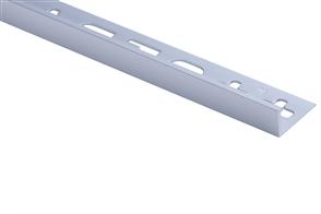 Roberts TASE10-MAT Silver Matt Square Edge Aluminium Tile Trim 10 x 2500 mm