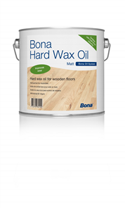 Bona Hard Wax Oil Matt 2.5 Litre