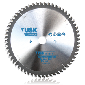 Tusk  Aluminium Tungsten TACH 210 60T Carbide Blade 210 mm