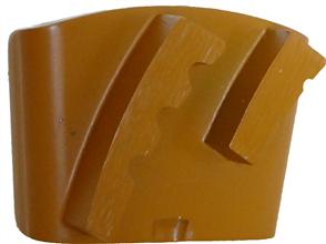 Tusk 2 Segment GEZS NF Grinding Shoe 20 - 25 Grit