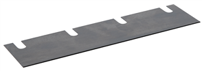 Wolff 13345 Duro Stripper Spare Blade for Linoleum and PVC 210 x 60 x 1mm