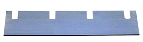 Wolff 13344 Duro Stripper Spare Blade for Textile 210 x 60 x 0.7 mm