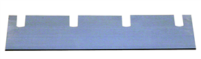 Wolff 13346 Duro Stripper Spare Blade for Linoleum and PVC 210 x 60 x 1.5 mm