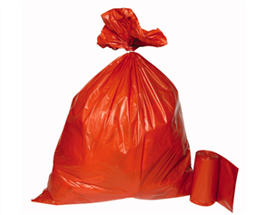 Rubbish Bags Brick 25 per roll