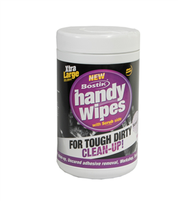 Bostik Handy Wipes - 70 per bkt