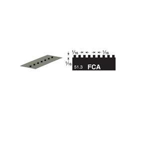 Versablade Square Notch 680-FCA Trowel Blade