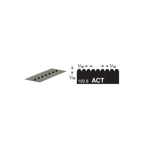 V1 Versablade V Notch 680-ACT Trowel Blade