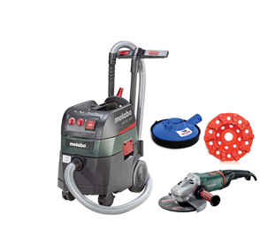 Metabo Vacuum Grind Package ASR35