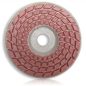 Tusk PPP 10050 Dry and Wet Polishing Pads with Plastic Backer