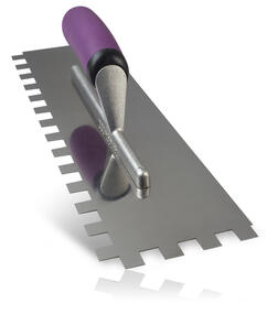 Ardex Stainless Steel Square Notch Tiling Trowel 14 mm