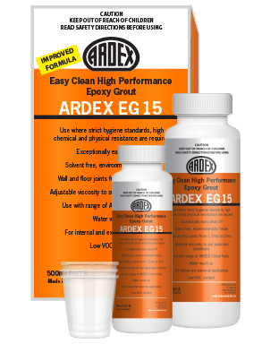 Ardex EG 15 Epoxy Grout