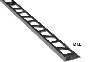 Strongbond Black Square Tile Trim 2.7m
