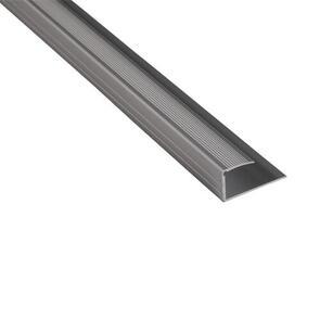 Strongbond Edge Section 10-12mm Aluminium Floor Trim 3m