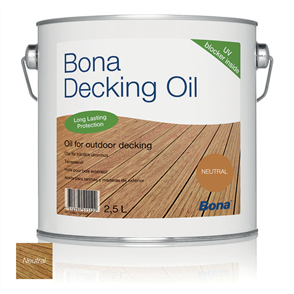 Bona Decking Oil 2.5 Litre