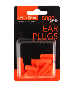 Lynn River Earplugs Disposable 5 pairs per pkt