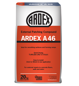 Ardex A46 External Patching Compound 20 kg