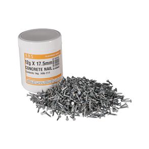Concrete Nail 17.5mm Silver 1kg