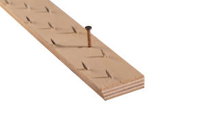 Strongbond Architectural Tack Strip Wood 9mm - 33mm x 70 lengths