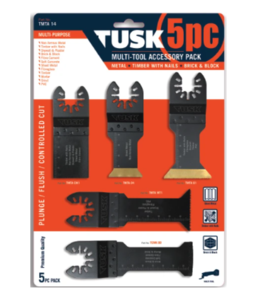 Multi Tools Blades 5pc Set