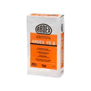 Ardex FG8 Misty Grey Flexible Coloured Grout 20 kg