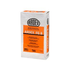 Ardex FG8 White Flexible Coloured Grout 20 kg