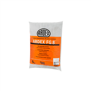 Ardex FG8 White Flexible Coloured Grout 5 kg