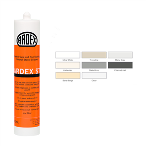 Ardex ST Natural Stone Silicone Charred Ash 310 ml