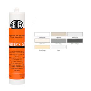 Ardex ST Natural Stone Silicone Charred Ash 310 ml
