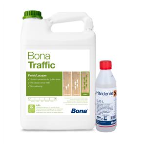 Bona Traffic and Hardener (Silkmatt)