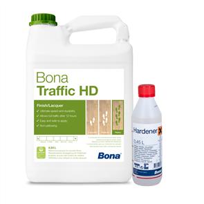 Bona Traffic HD and Hardener (Extra Matt)