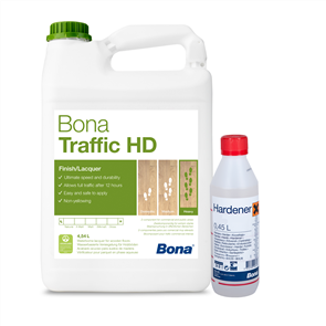 Bona Traffic HD and Hardener (Silk Matt)