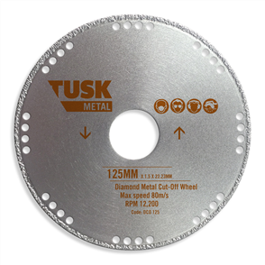 Tusk Diamond Metal DCO Cut-Off Wheel