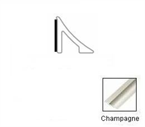Tredsafe Luxury Vinyl Tile DT055  Edge Cap Champagne