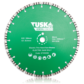 Tusk Electric Thin Hand Saw Blade ETHS 350 350 mm