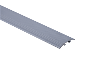 Roberts Silver Junior Laminate Cover 50.E10S  Aluminium Floor Trim 3.30m