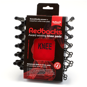Redbacks Award Winning Workwear Knee Pads