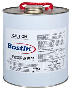 Bostik PVC Super Wipe 4 Litre