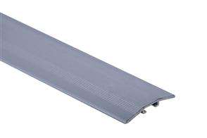 Roberts Silver Senior Laminate Cover 50.E12S  Aluminium Floor Trim 3.30m