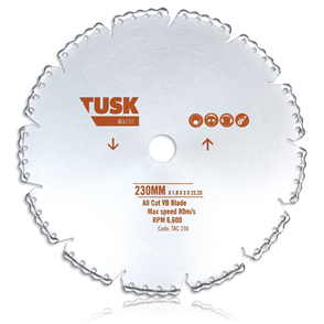 Tusk VB All Cut TAC 180 Blade 180 mm